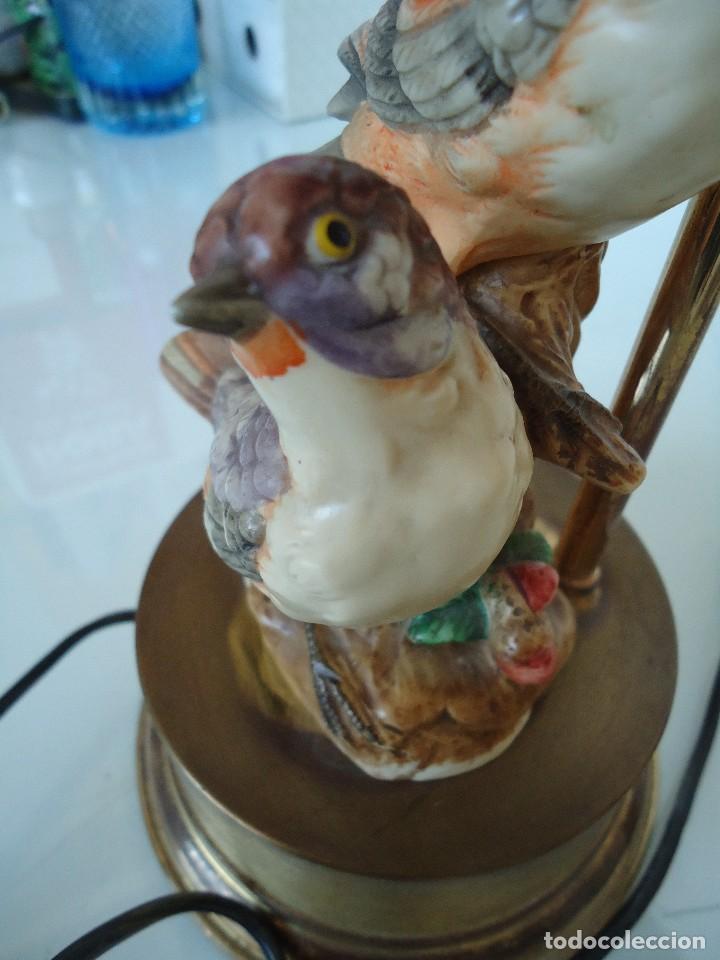 Vintage: lampara con pájaros - Foto 7 - 118774843