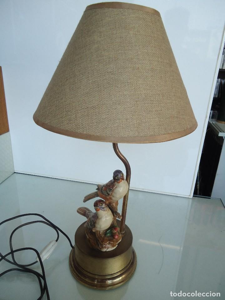 Vintage: lampara con pájaros - Foto 8 - 118774843