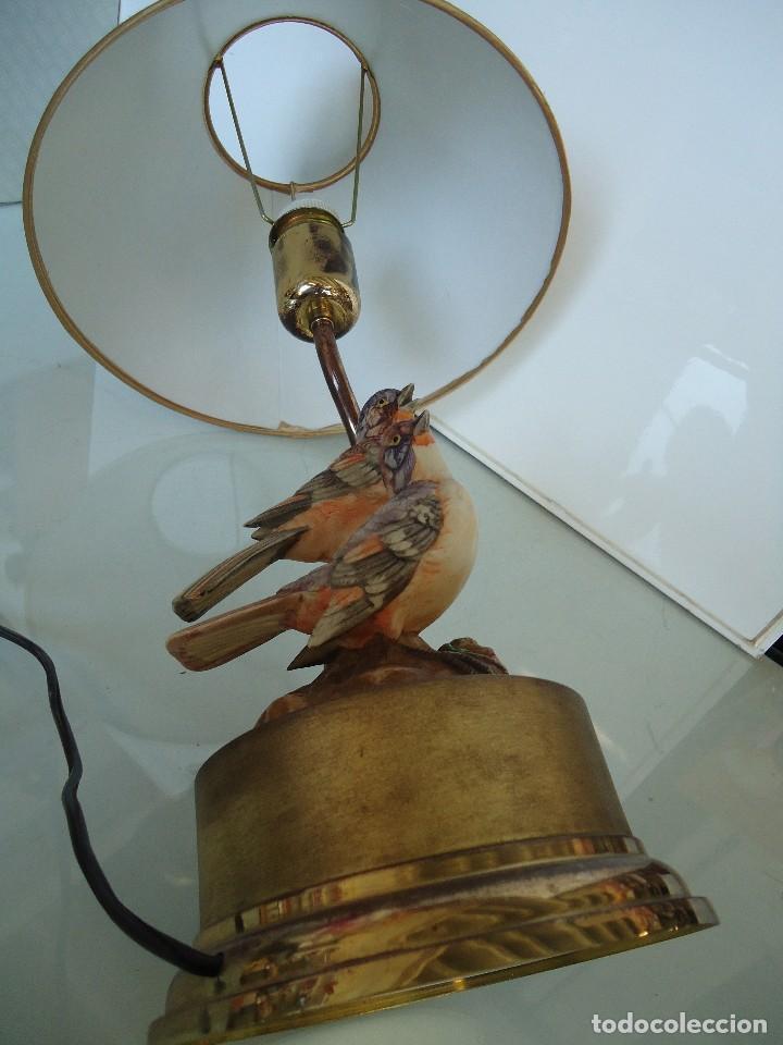 Vintage: lampara con pájaros - Foto 9 - 118774843