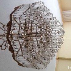 Vintage - Lampara techo cristal Strass - 119012131