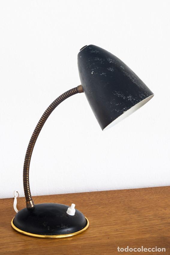LÁMPARA DE SOBREMESA - ESPAÑA, AÑOS 50-60 (Vintage - Lámparas, Apliques, Candelabros y Faroles)
