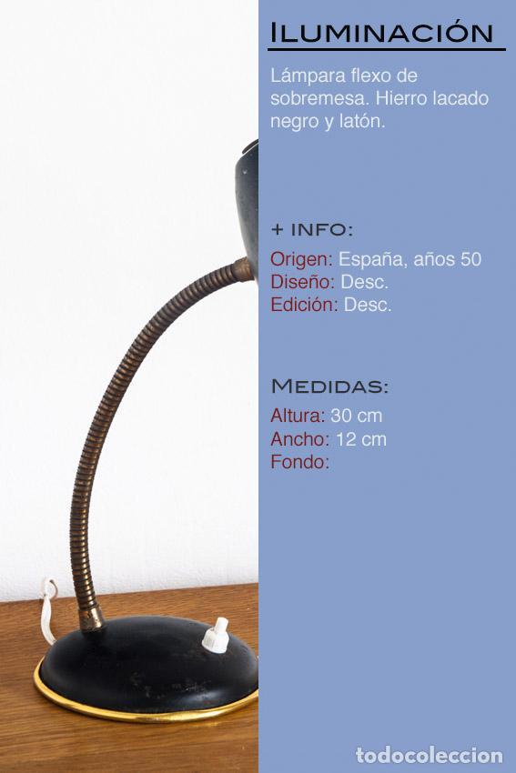 Vintage: Lámpara de sobremesa - España, años 50-60 - Foto 2 - 120027511