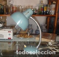 ANTIGUO FLEXO. FUNCIONANDO (Vintage - Lámparas, Apliques, Candelabros y Faroles)