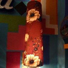 Vintage: LAMPARA SOBREMESA AÑOS 70 VINTAGE-CRISTAL TALLADO . Lote 121474043