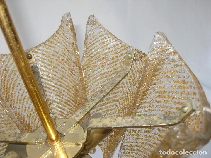 Vintage: PRECIOSA LAMPARA SALITA O HABITACION VINTAGE CRISTAL ORREFORS TIPO FAGERLUND - Foto 3 - 121679531