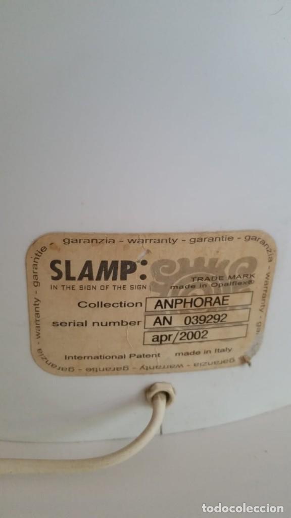 Vintage: GRAN LÁMPARA DE PIE SLAMP - SAMUEL PARKER - Foto 6 - 121751683