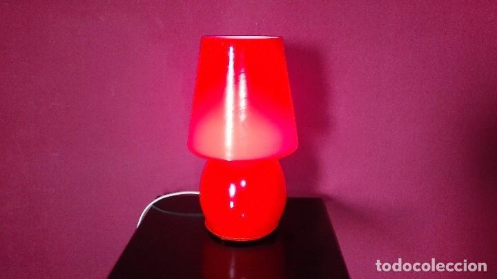 Vintage: LAMPARA SOBREMESA CRISTAL MURANO - Foto 3 - 121846291