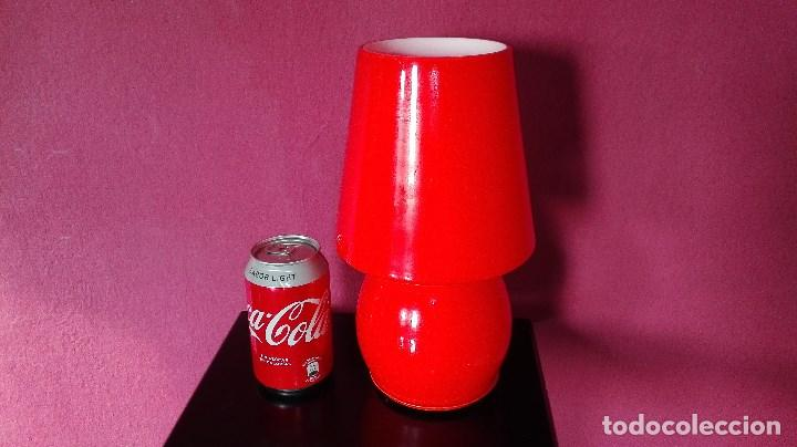 Vintage: LAMPARA SOBREMESA CRISTAL MURANO - Foto 6 - 121846291