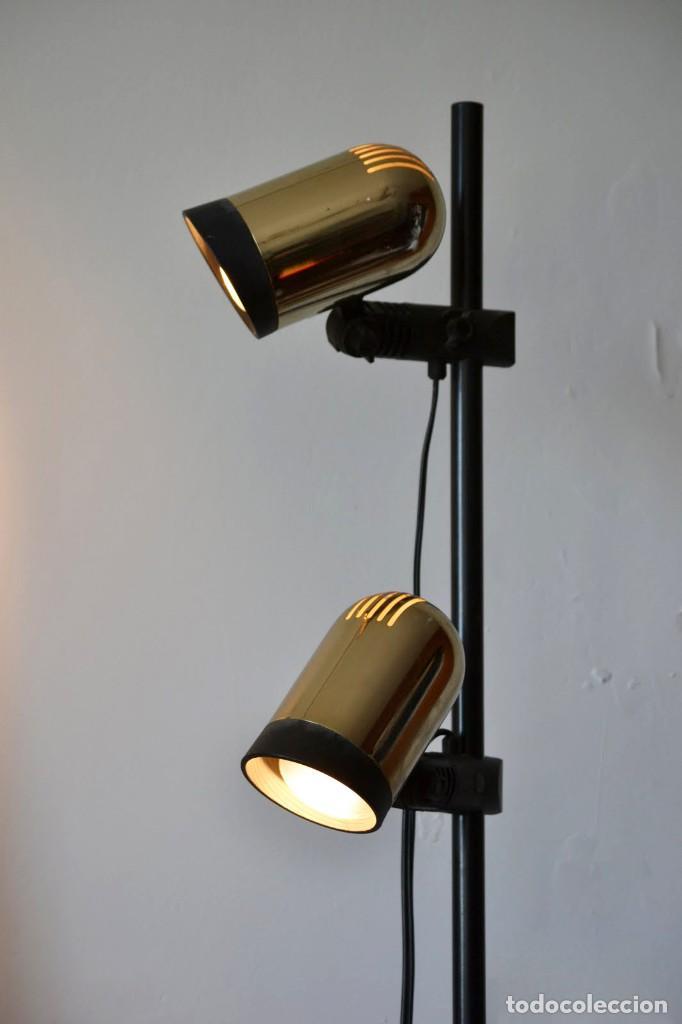 LAMPARA PIE FASE, TRANSPORTE GRATIS COMUNIDAD DE MADRID. (Vintage - Lámparas, Apliques, Candelabros y Faroles)