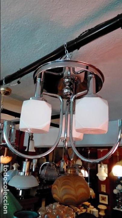 LAMPARA DE TECHO AÑOS 70 (Vintage - Lámparas, Apliques, Candelabros y Faroles)