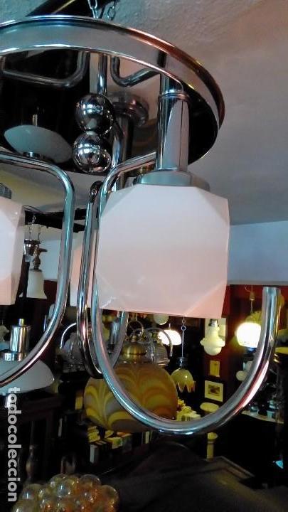 Vintage: lampara de techo años 70 - Foto 3 - 122460323