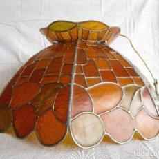 Vintage: LAMPARA TECHO VINTAGE ESTILO TIFFANY. Lote 122812403