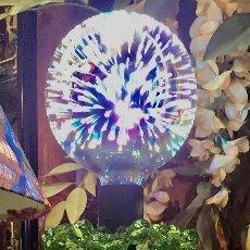 Vintage: LAMPARA SOBREMESA JARRON POP ART . Lote 122848403