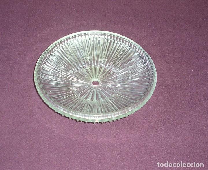Vintage: Cristal para plafon lampara de techo.20 cm. - Foto 3 - 122930199