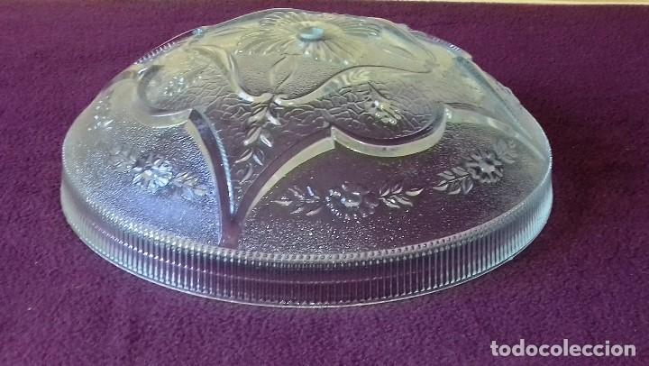 Vintage: Cristal para plafon lampara de techo. - Foto 3 - 122930255