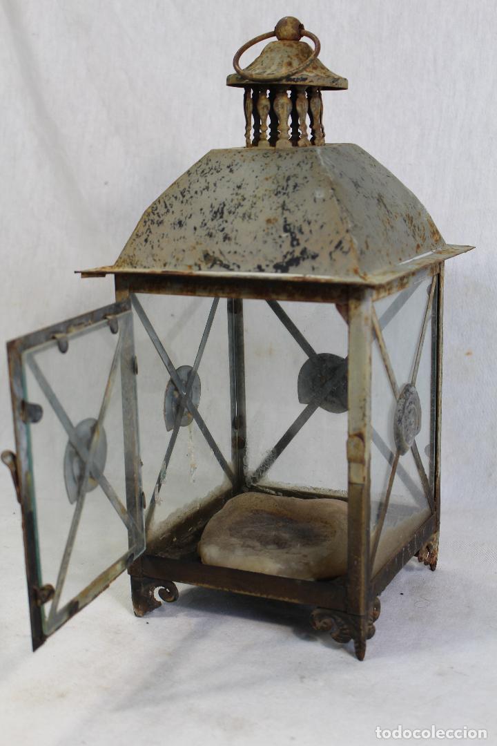 Vintage: farol en metal - Foto 4 - 123304835