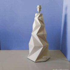 Vintage: ORIGINAL LAMPARA DE DISEÑO ORIGAMI FACETADA EN CERÁMICA -. Lote 124009851