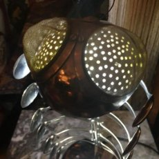 Vintage: LAMPARA SOBREMESA CIEN-PIES-PIEZA DE AUTOR . Lote 124468875