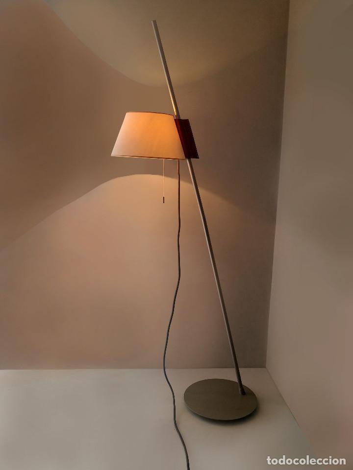 SUPER EXCLUSIVA LAMPARA DE ESTUDI BLANC POR METALARTE - SIMPLISIMA - MUY ESCASA (Vintage - Lámparas, Apliques, Candelabros y Faroles)