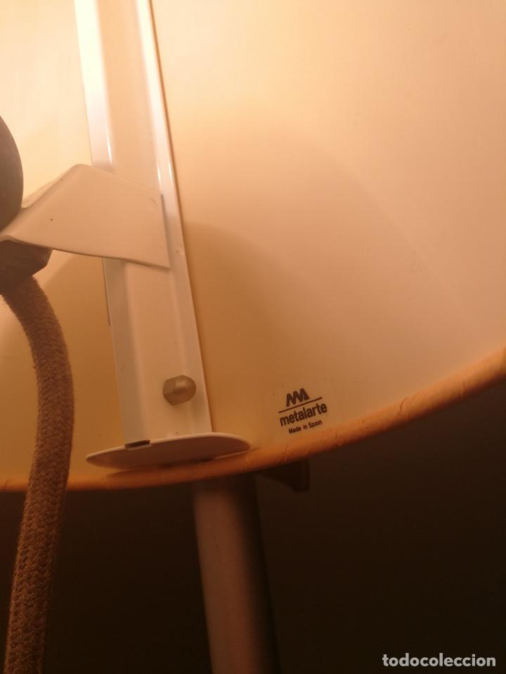 Vintage: SUPER EXCLUSIVA LAMPARA DE ESTUDI BLANC POR METALARTE - SIMPLISIMA - MUY ESCASA - Foto 7 - 125285927