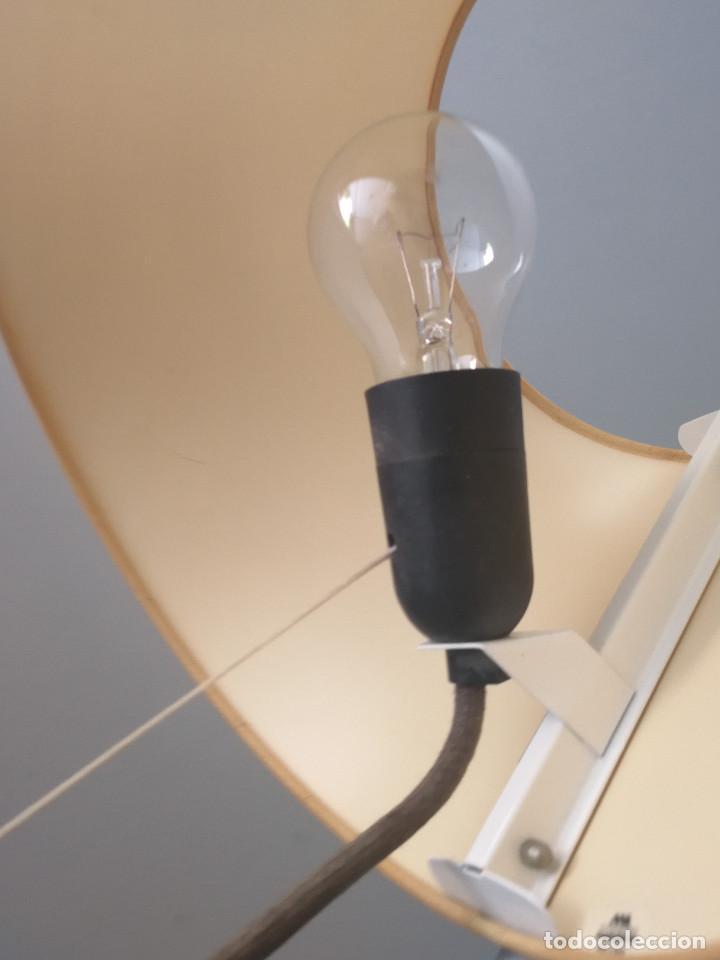 Vintage: SUPER EXCLUSIVA LAMPARA DE ESTUDI BLANC POR METALARTE - SIMPLISIMA - MUY ESCASA - Foto 10 - 125285927