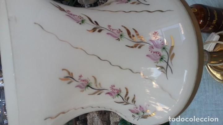 Vintage: Lampara de mesa vintage. Años 80. Completa. Funcionando. - Foto 3 - 126062735