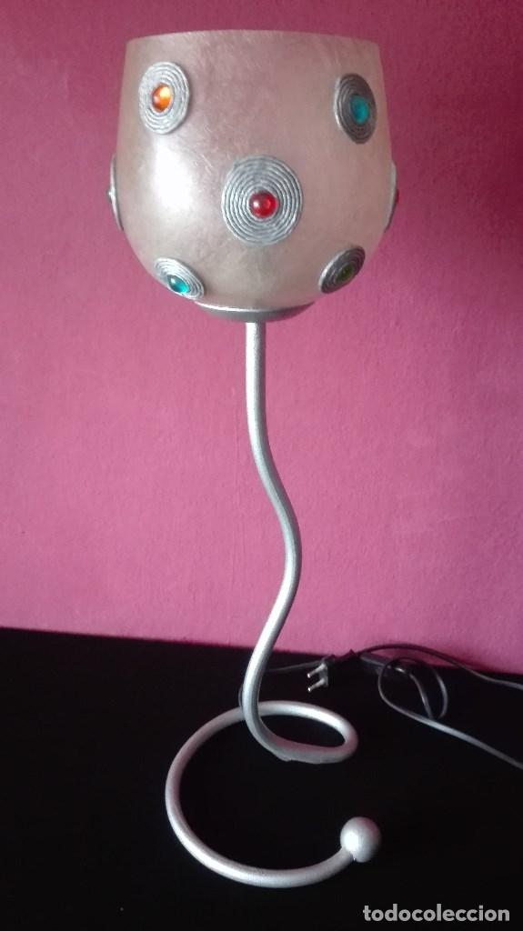 LAMPARA SOBREMESA VINTAGE (Vintage - Lámparas, Apliques, Candelabros y Faroles)