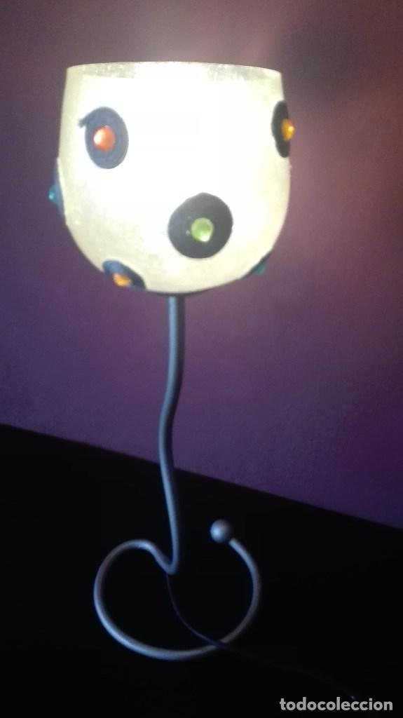 Vintage: LAMPARA SOBREMESA VINTAGE - Foto 4 - 126088043
