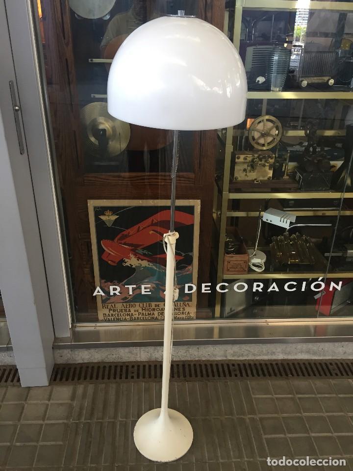 VINTAGE LAMPARA DE PIE TRAMO DISEÑO DE J.A. BLANC PARA TRAMO , AÑOS 70 (Vintage - Lámparas, Apliques, Candelabros y Faroles)