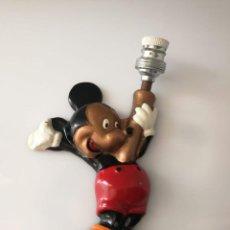 Vintage: ANTIGUO APLIQUE LAMPARA DISNEY ORIGINAL- MICKEY MOUSE - AÑOS 50. Lote 127217595