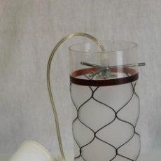 Vintage: LAMPARA DE TECHO TULIPA DE CRISTAL. Lote 127744375