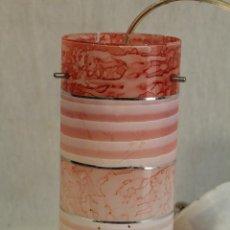 Vintage: LAMPARA DE TECHO TULIPA DE CRISTAL. Lote 127744439