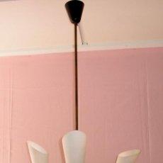 Vintage: L-1.ANTIGUA LAMPARA DE TECHO - VINTAGE AÑOS 50. Lote 127972391