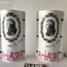 Vintage: JUEGO DE LAMPARAS SLAMP OPERA. SAMUEL PARKER. ITALIA AÑOS 80 VINTAGE.. Lote 127997095