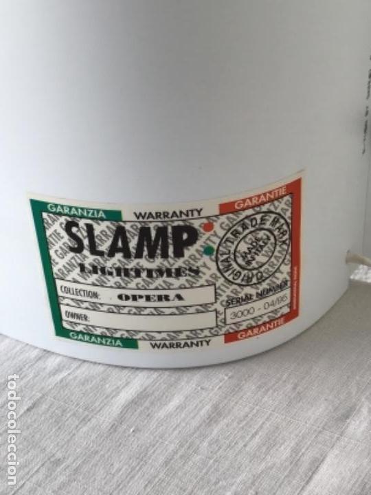 Vintage: JUEGO DE LAMPARAS SLAMP OPERA. SAMUEL PARKER. ITALIA AÑOS 80 VINTAGE. - Foto 4 - 127997095