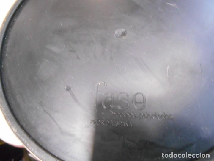 Vintage: LAMPARA MARCA FASE - MODELO FARO - COLOR GRIS/CROMO - AÑOS 70 - VINTAGE RETO -ORIGINAL - - Foto 10 - 128463251