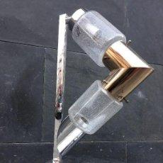 Vintage: ORIGINALÍSIMA LAMPARA VINTAGE AÑOS 60 ALDO NASON PARA MAZZEGA MURANO MESA CÓMODA APARADOR. Lote 129318735