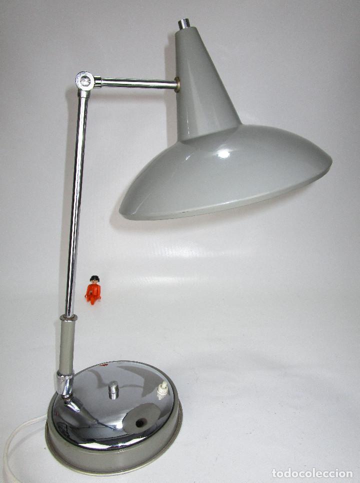 Vintage: LAMPARA VINTAGE MIDCENTURY BUENISIMO ESTADO TIPO NORDICA STILNOVO - Foto 2 - 130280934