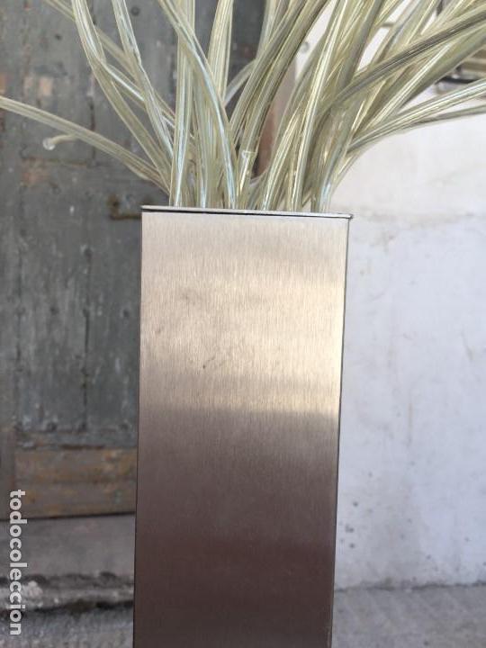 Vintage: DESCATALOGADA LÁMPARA DE PIE STRANNE TABLE LAMP IKEA ACERO 36 BRAZOS DE LUZ 1,38 M - Foto 14 - 131043800