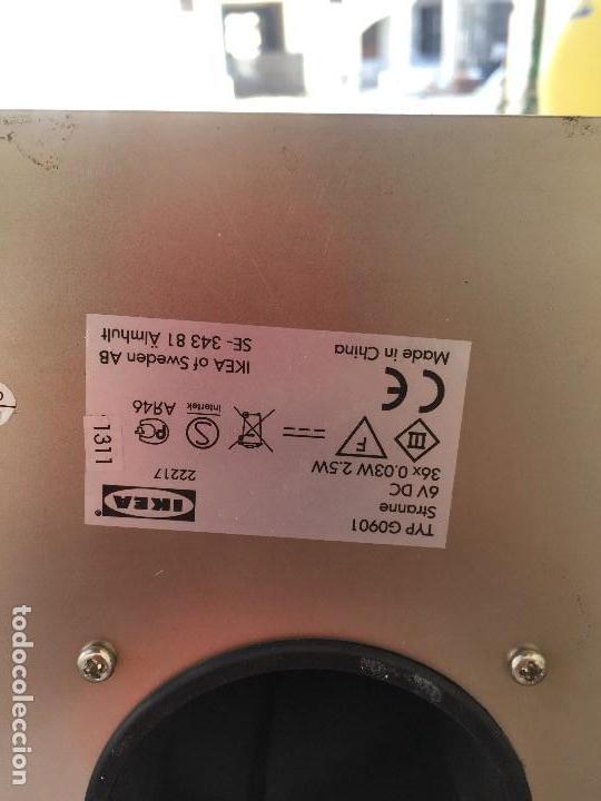 Vintage: DESCATALOGADA LÁMPARA DE PIE STRANNE TABLE LAMP IKEA ACERO 36 BRAZOS DE LUZ 1,38 M - Foto 19 - 131043800