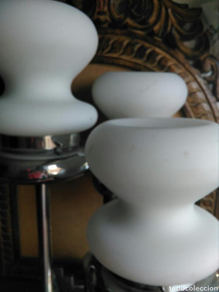 Vintage: Genial Lampara vintage diseño italiano años 70 estilo Mazzega Murano sobremesa techo, space age - Foto 5 - 131508379