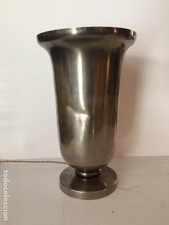 Vintage: LAMPARA MESA, COPA , ESTILO ART DECO , FRANCIA , 1940 - Foto 2 - 131997526