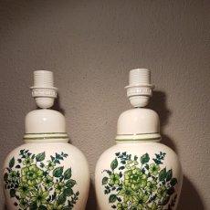 Vintage: PAREJA DE LAMPARAS DE SOBREMESA FF. 70 PP. 80. Lote 132342163