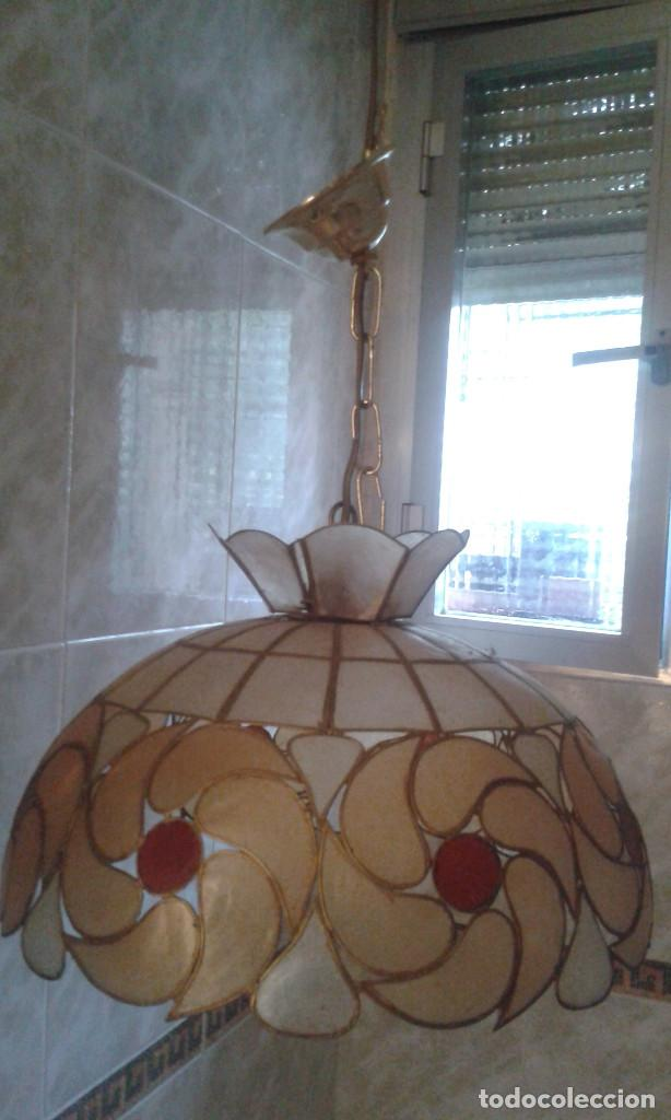 Vintage: Lampara colgante 10 bombillas - Foto 4 - 132510414