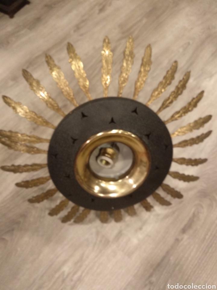 PLAFON, LAMPARA TECHO SOL (Vintage - Lámparas, Apliques, Candelabros y Faroles)