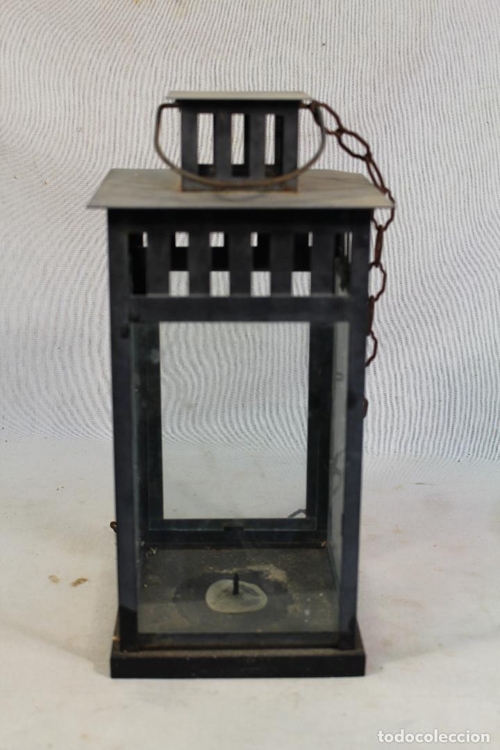 Vintage: farol en metal - Foto 4 - 134738378