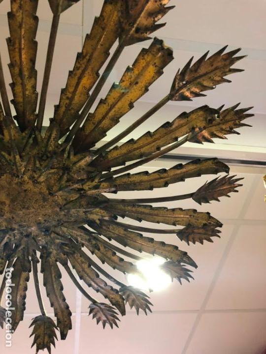Vintage: FANTASTICA LAMPARA PLAFON SOL METALICO VINTAGE - MEDIDA 80 CM - - Foto 2 - 134970934