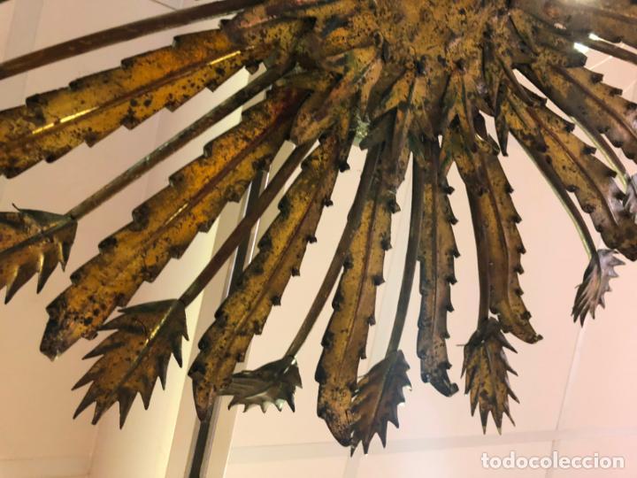 Vintage: FANTASTICA LAMPARA PLAFON SOL METALICO VINTAGE - MEDIDA 80 CM - - Foto 6 - 134970934