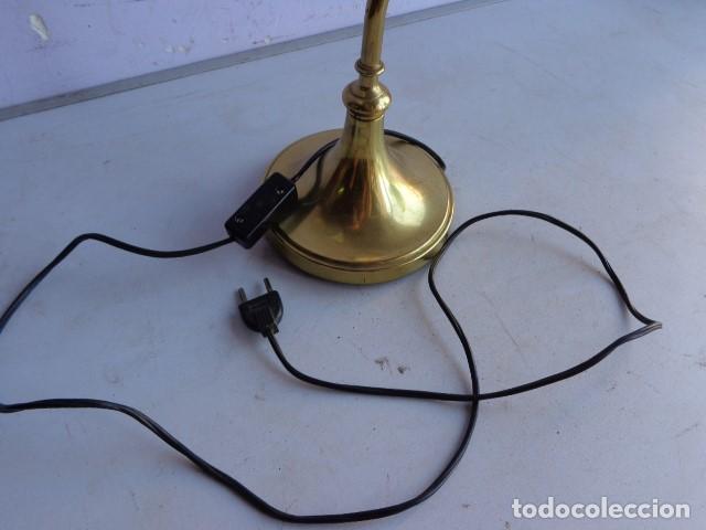 Vintage: ANTIGUA, AÑOS 60 RETRO VINTAGE PRECIOSA LAMPARA REGULABLE BRONCE LATON IMPECABLE Y FUNCIONANDO - Foto 3 - 135079734