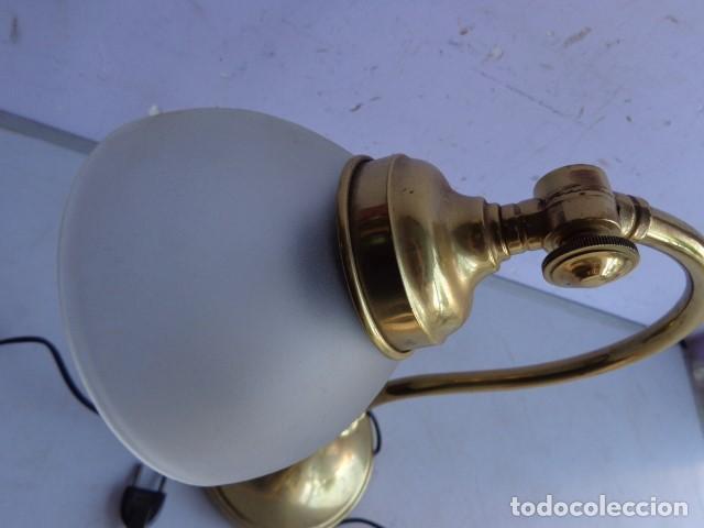 Vintage: ANTIGUA, AÑOS 60 RETRO VINTAGE PRECIOSA LAMPARA REGULABLE BRONCE LATON IMPECABLE Y FUNCIONANDO - Foto 4 - 135079734